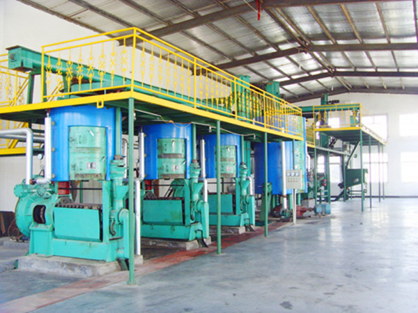 青海菜籽油压榨设备生产线安装案例